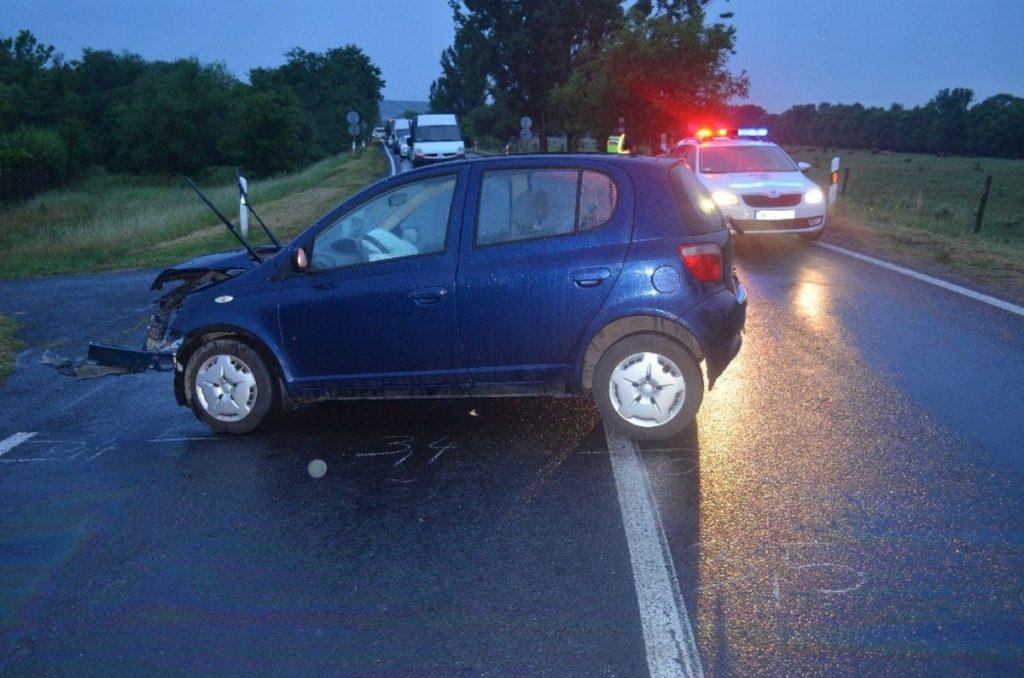 Felvétel a tavaly nyári baleset helyszínéről (Fotó: Nógrád Megyei Rendőr-főkapitányság)