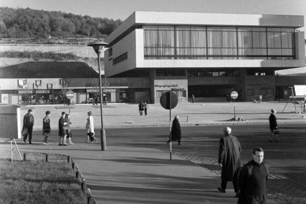 A József Attila Művelődési Központ 1970-ben (Archív fotó:Fortepan / Lechner Nonprofit Kft. Dokumentációs Központ)