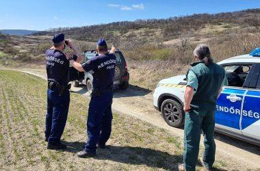 Közös ellenőrzést tartott a rendőrség és a természetvédelem a cserháti erdőkben (Fotó: Nógrád Megyei Rendőr-főkapitányság)