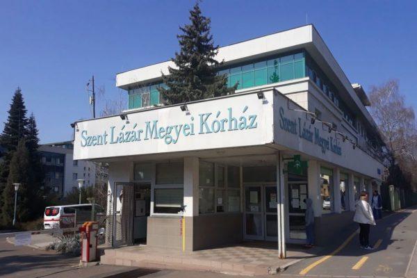 A Szent Lázár Megyei Kórház (Fotó: Szent Lázár Megyei Kórház | Facebook)