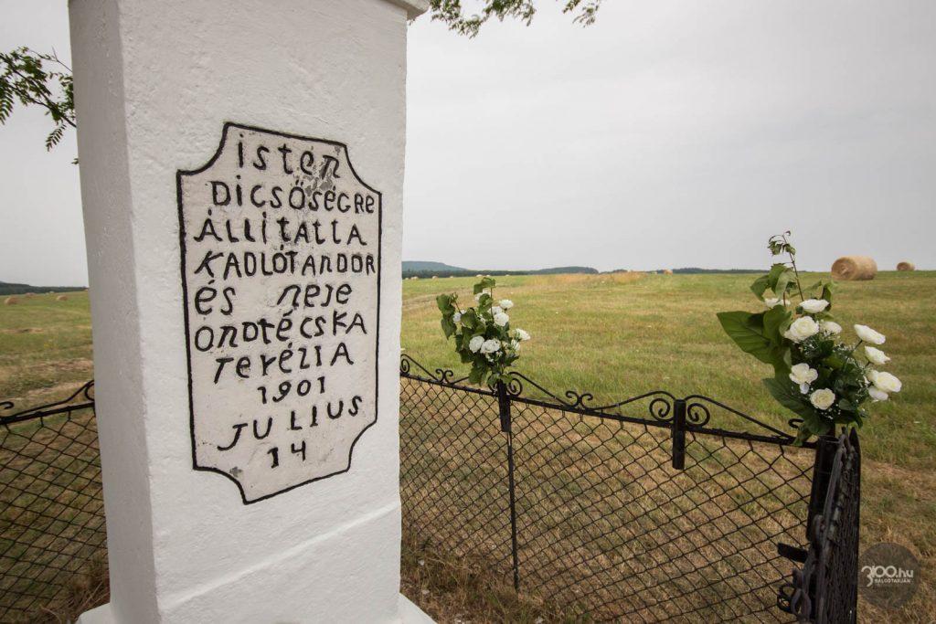 3100.hu Fotó: A Réti kereszt, felállításának 120 éves évfordulóján, 2021. július 14-én