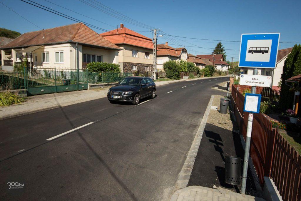 3100.hu Fotó: Átadták a felújított utat Etes és Ságújfalu között