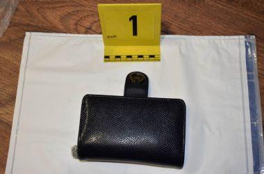 A gyanúsított több pénztárcát és táskát is ellopott (Fotó: Nógrád Megyei Rendőr-főkapitányság)