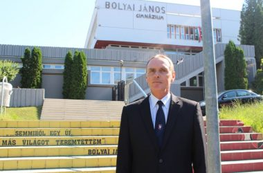 3100.hu Fotó: Pálfalvai Zoltán, a Salgótarjáni Bolyai János Gimnázium igazgatója