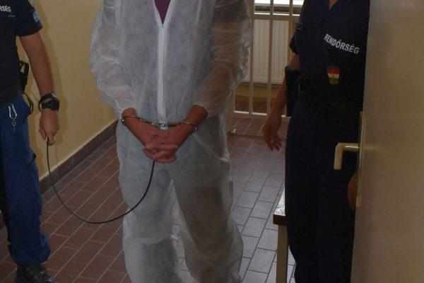 A balassagyarmati késelőt még a helyszínen elfogták a rendőrök (Fotó: Nógrád Megyei Rendőr-főkapitányság)