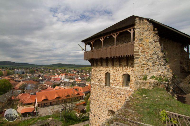 A füleki vár (Fotó: karancs-medves.info/Drexler Szilárd)