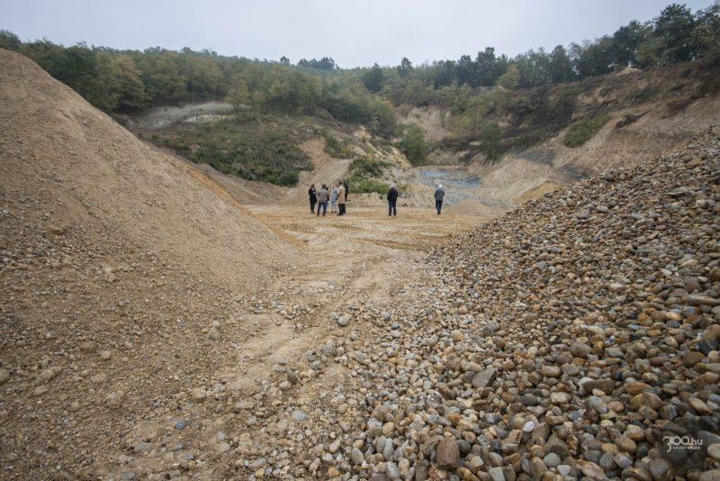 3100.hu Fotó: Újranyitották a kavicsbányát Salgótarján déli határában