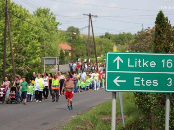 3100.hu Fotó: Demonstráció Karancsalján, 2016 májusában