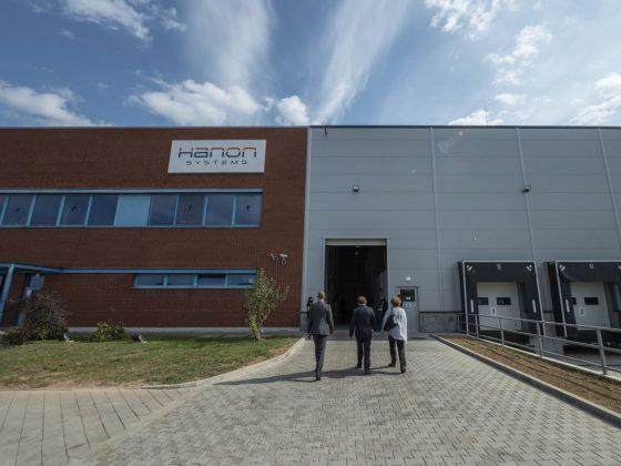 A Hanon Systems Hungary Kft. rétsági üzeme (Fotó: MTI/Komka Péter)