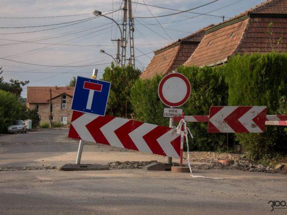3100.hu fotó: A Csokonai út felújítása