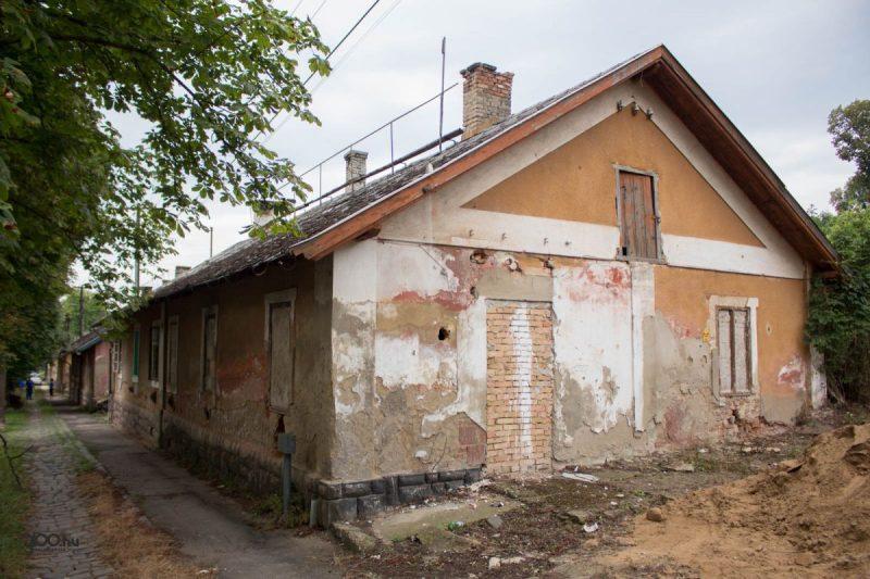 3100.hu Fotó: Megkezdődött a Salgó úti kolóniaépületek felújítása