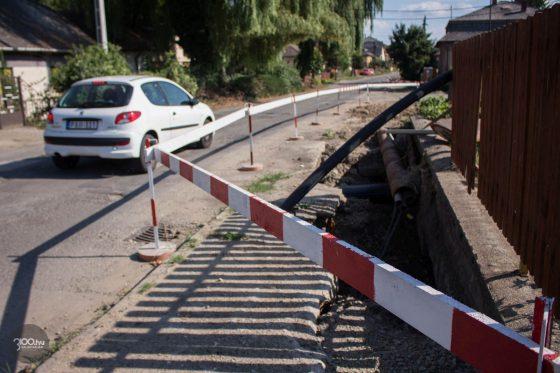 3100.hu Fotó: A Sugár út felújítása