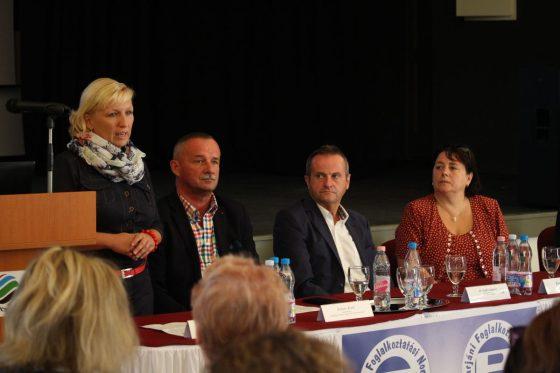 A Salgótarjáni Foglalkoztatási Paktum tájékoztatója (Fotó: Nógrád Megyei Kormányhivatal)