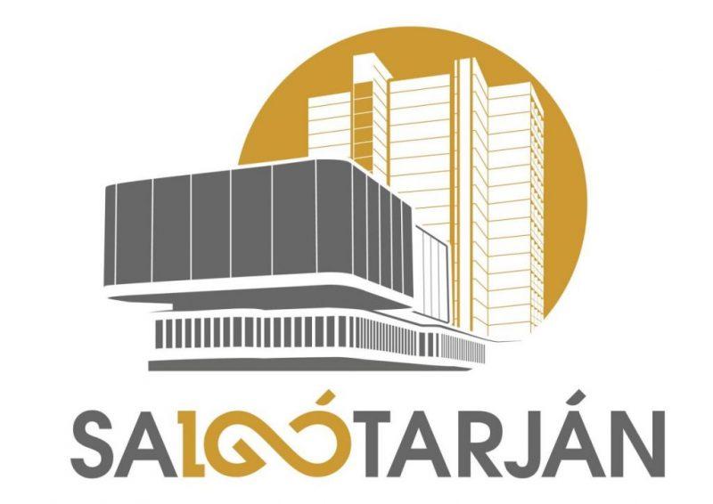 Salgótarján centenáriumi logója, Putnok Máté alkotása (Forrás: Salgótarjáni Rendezvény- és Médiaközpont Nonprofit Kft.)