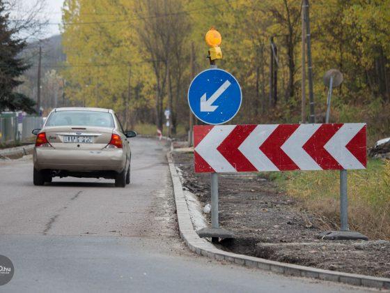 3100.hu Fotó: Kisebb forgalomkorlátozás mellett zajlik az útfelújítás a salgótarjáni Ipari Park bevezető útján