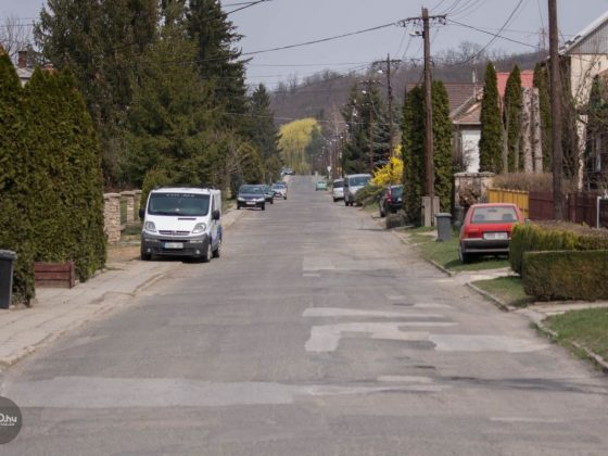 3100.hu Fotó: A salgótarjáni Sugár út 2019. április elején